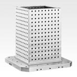 Tombstones cube with grid holes